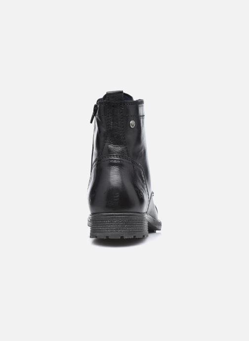 Bottines et boots Mustang shoes Orino Noir vue droite