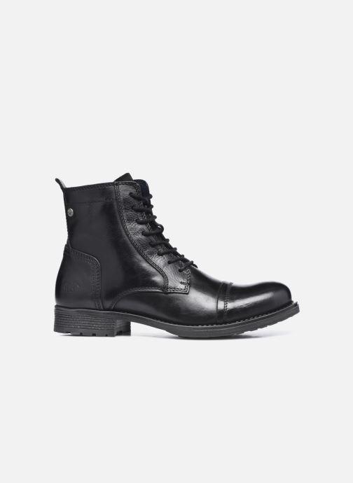 Bottines et boots Mustang shoes Orino Noir vue derrière