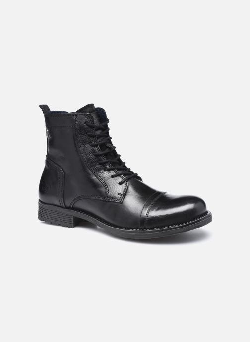 Boots en enkellaarsjes Mustang shoes Orino Zwart detail