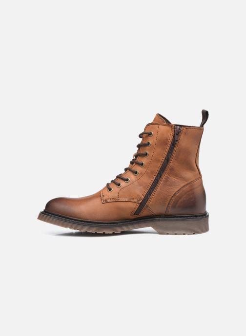 Bottines et boots Mustang shoes Sedry Marron vue face