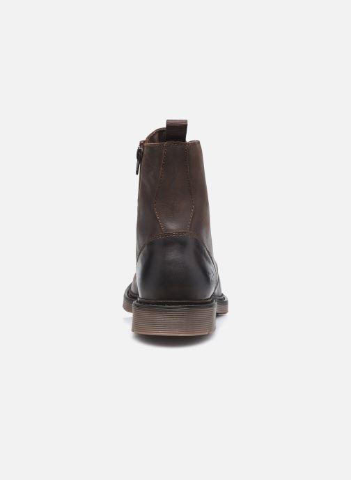 Bottines et boots Mustang shoes Sedry Marron vue droite
