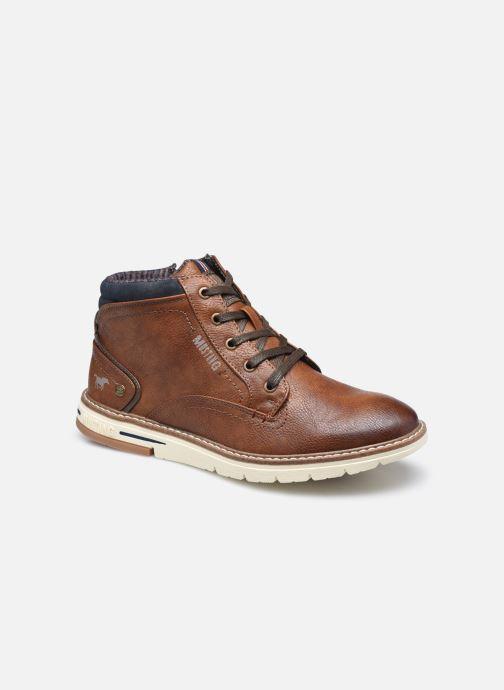 Bottines et boots Mustang shoes Frelme Marron vue détail/paire