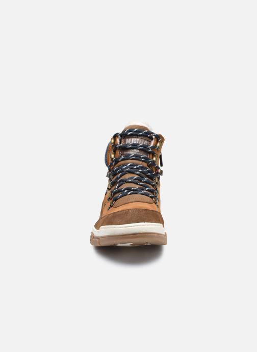Stiefeletten & Boots Mustang shoes Pilomo braun schuhe getragen