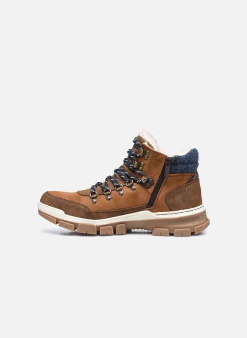 Stiefeletten & Boots Mustang shoes Pilomo braun ansicht von vorne