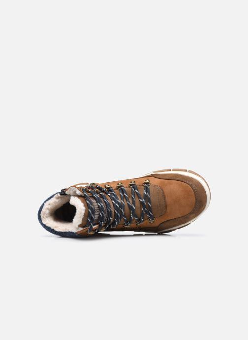 Stiefeletten & Boots Mustang shoes Pilomo braun ansicht von links