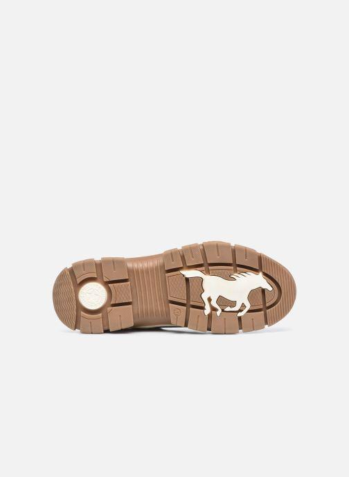 Stivaletti e tronchetti Mustang shoes Pilomo Marrone immagine dall'alto