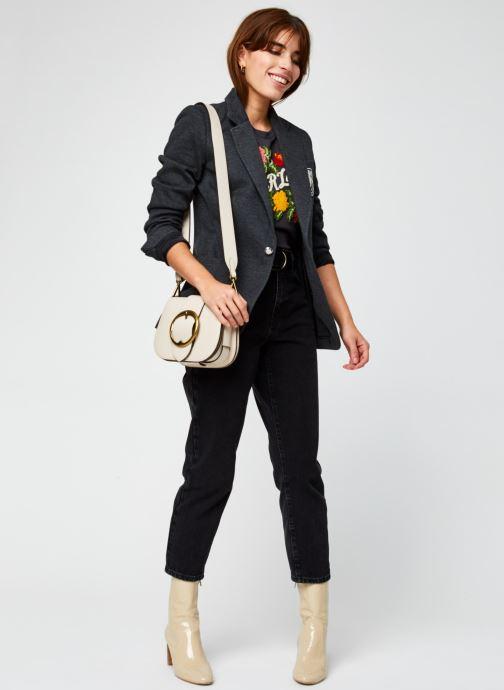 Vêtements Polo Ralph Lauren Aftn Bzr-Blazer Gris vue bas / vue portée sac