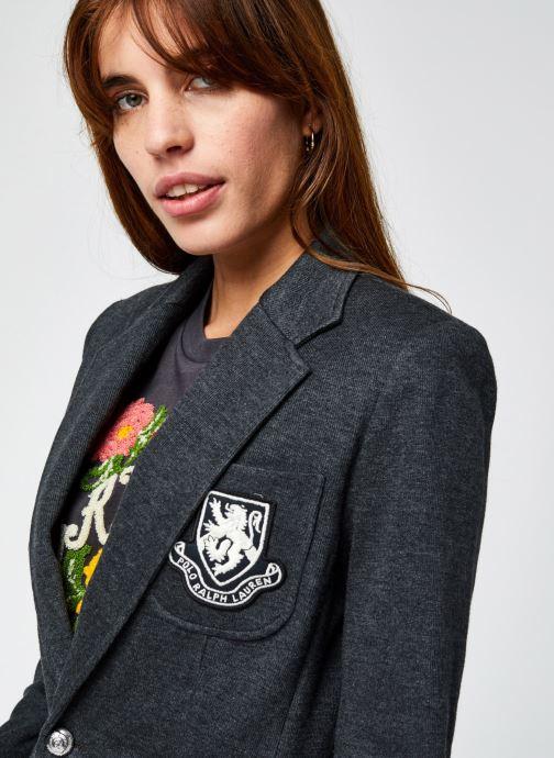 Vêtements Polo Ralph Lauren Aftn Bzr-Blazer Gris vue face