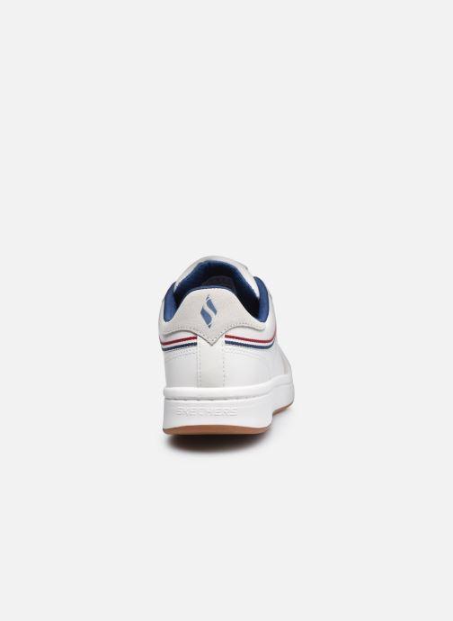 Sneaker Skechers DOWNTOWN KLASSIC KOURTS W weiß ansicht von rechts