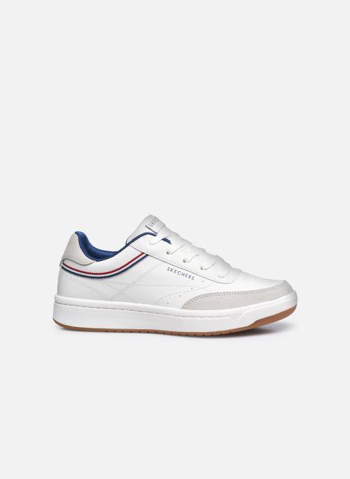 Sneaker Skechers DOWNTOWN KLASSIC KOURTS W weiß ansicht von hinten