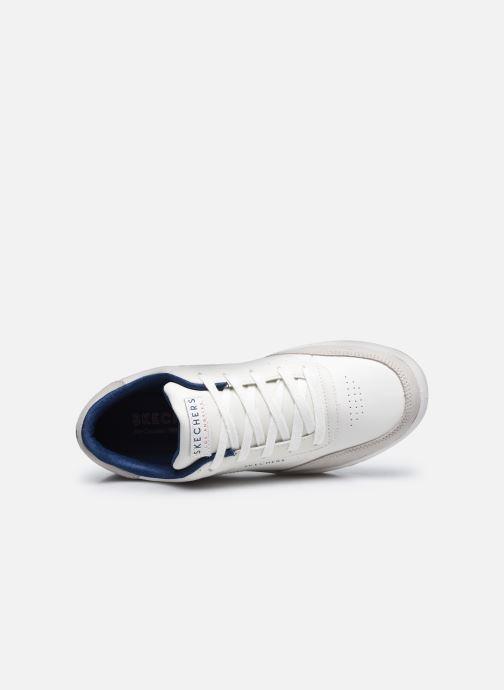 Sneaker Skechers DOWNTOWN KLASSIC KOURTS W weiß ansicht von links