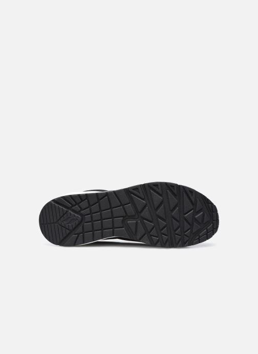 Baskets Skechers UNO W Noir vue haut