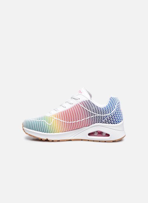 Sneakers Skechers UNO W Bianco immagine frontale