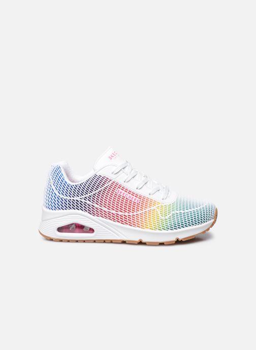 Sneakers Skechers UNO W Bianco immagine posteriore