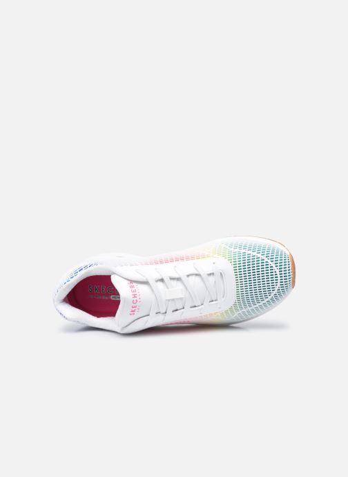 Sneaker Skechers UNO W weiß ansicht von links
