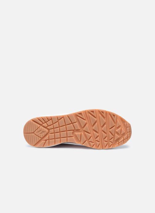 Sneaker Skechers UNO W weiß ansicht von oben