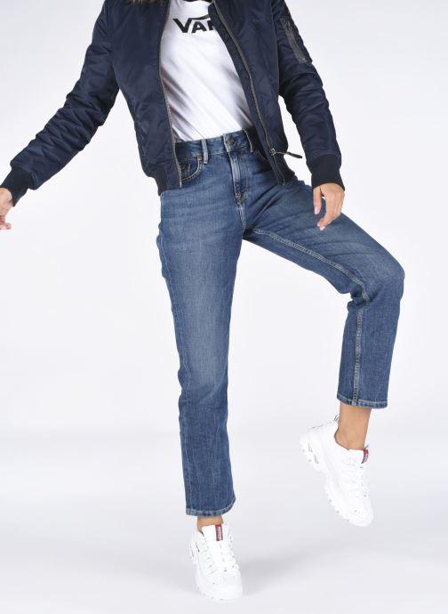 Sneaker Skechers ENERGY TIMELESS VISION W weiß ansicht von unten / tasche getragen
