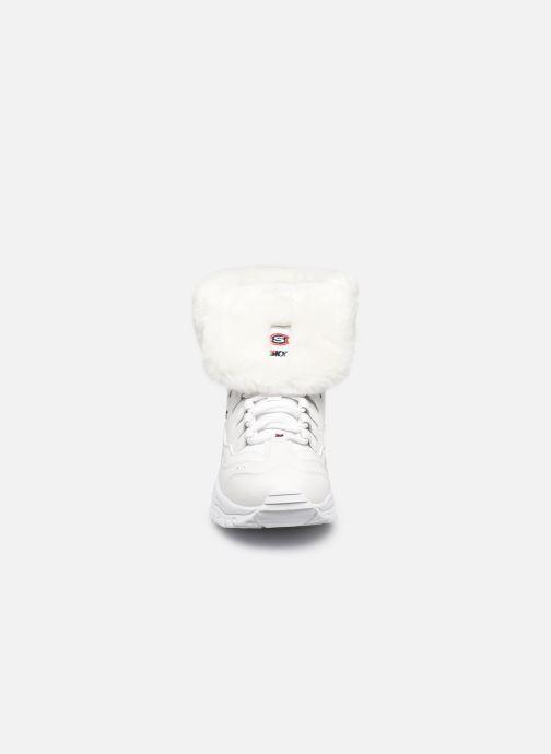Stiefeletten & Boots Skechers ENERGY COOL DOWN W weiß schuhe getragen