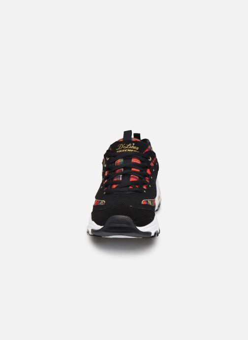 Sneakers Skechers D'LITES MOUNTAIN ALPS W Nero modello indossato