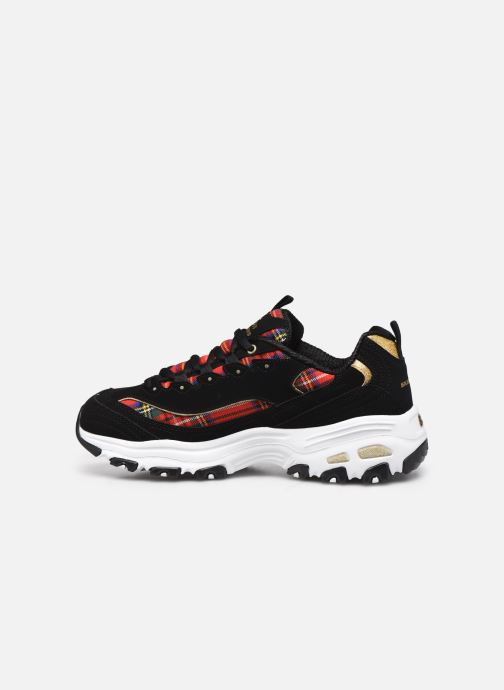 Sneakers Skechers D'LITES MOUNTAIN ALPS W Nero immagine frontale