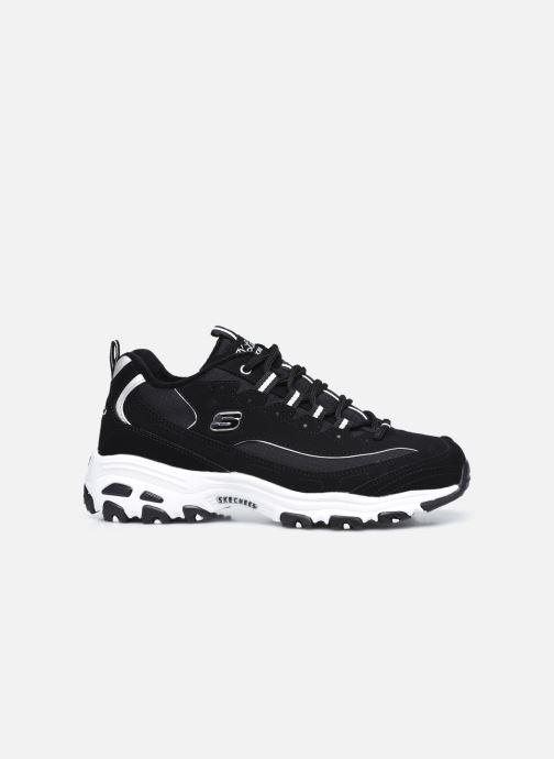 Sneaker Skechers D'LITES FREEZE TALK W schwarz ansicht von hinten