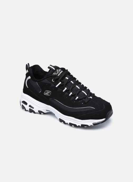 Baskets Skechers D'LITES FREEZE TALK W Noir vue détail/paire