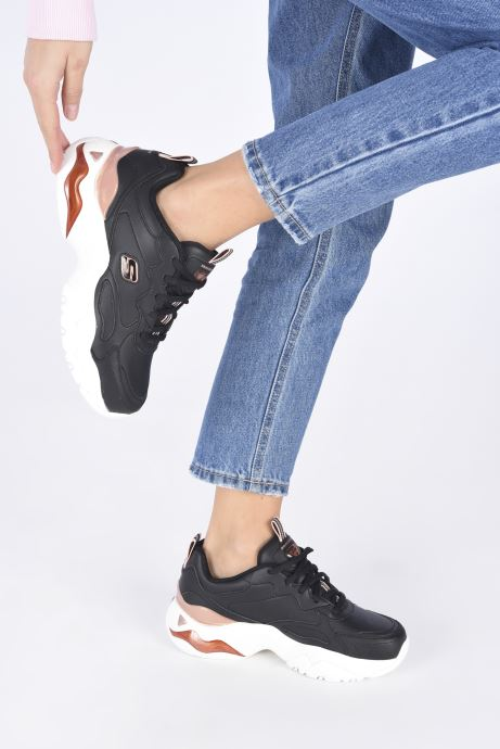 Sneakers Skechers D'LITES 3.0 AIR GOLDEN RULES W Nero immagine dal basso