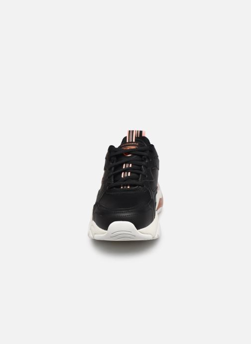 Sneakers Skechers D'LITES 3.0 AIR GOLDEN RULES W Nero modello indossato