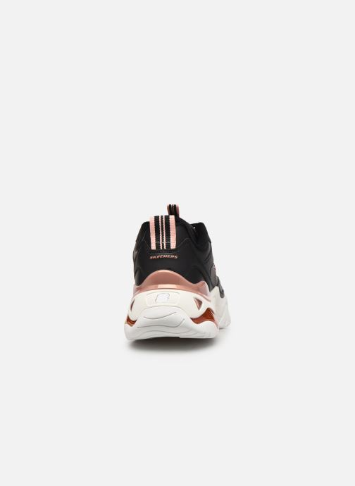 Sneakers Skechers D'LITES 3.0 AIR GOLDEN RULES W Nero immagine destra
