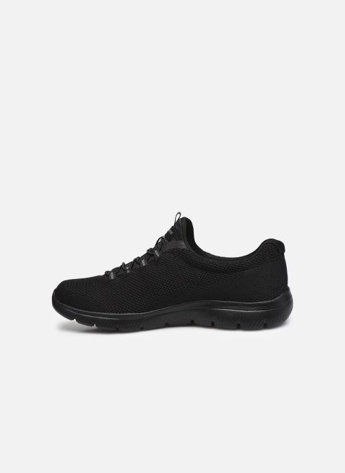 Zapatillas de deporte Skechers SUMMITS COOL CLASSIC W Negro vista de frente