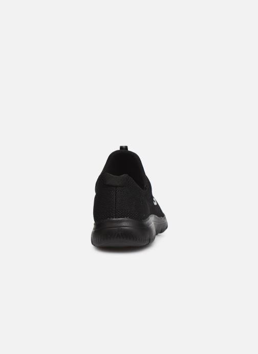 Sportschuhe Skechers SUMMITS COOL CLASSIC W schwarz ansicht von rechts