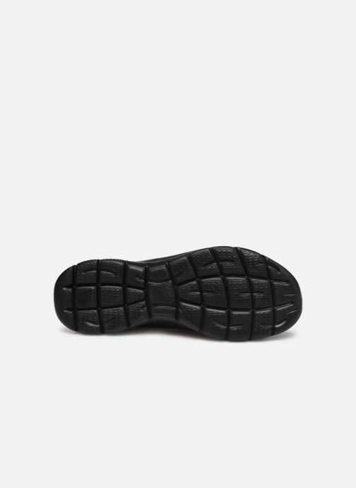 Zapatillas de deporte Skechers SUMMITS COOL CLASSIC W Negro vista de arriba