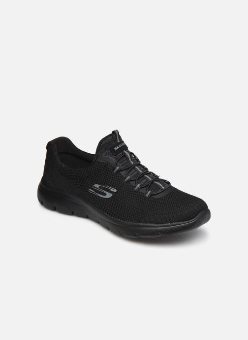 Sportschuhe Skechers SUMMITS COOL CLASSIC W schwarz detaillierte ansicht/modell
