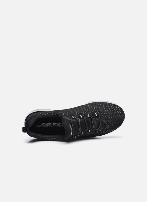 Zapatillas de deporte Skechers SUMMITS W Negro vista lateral izquierda