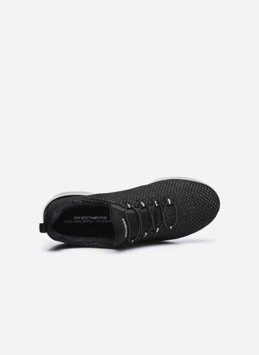 Chaussures de sport Skechers SUMMITS W Noir vue gauche