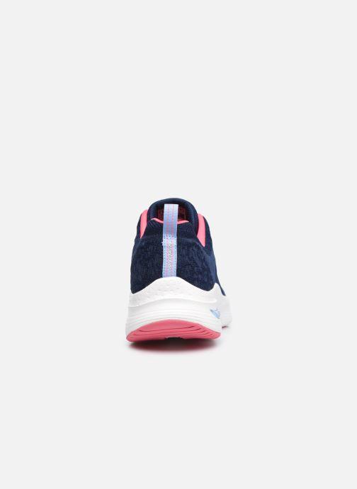 Zapatillas de deporte Skechers ARCH FIT W Azul vista lateral derecha