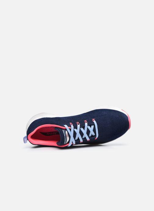 Scarpe sportive Skechers ARCH FIT W Azzurro immagine sinistra
