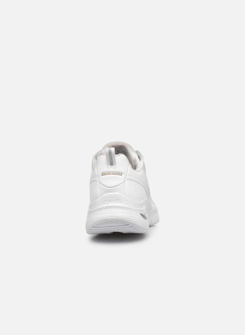 Sneaker Skechers ARCH FIT CITI DRIVE W weiß ansicht von rechts