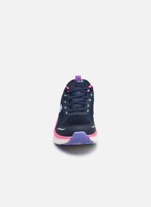 Sneaker Skechers D'LUX WALKER INFINITE MOTION W schwarz schuhe getragen