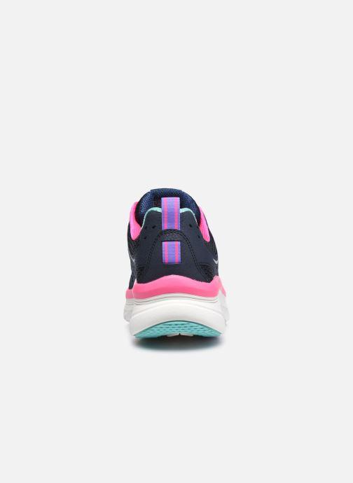 Sneaker Skechers D'LUX WALKER INFINITE MOTION W schwarz ansicht von rechts