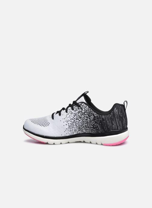 Zapatillas de deporte Skechers FLEX APPEAL 3.0 W Blanco vista de frente