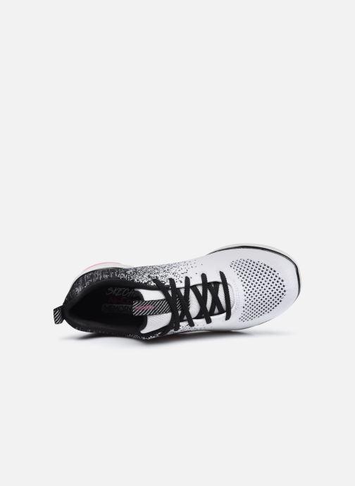Sportschuhe Skechers FLEX APPEAL 3.0 W weiß ansicht von links