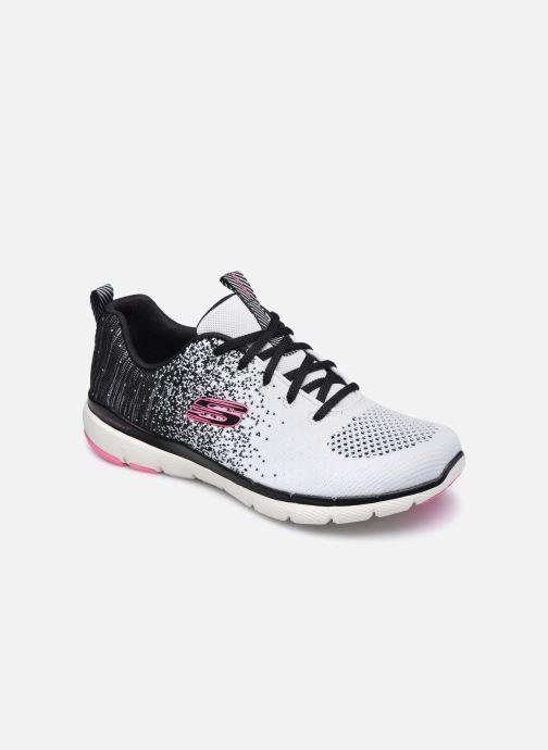 Zapatillas de deporte Skechers FLEX APPEAL 3.0 W Blanco vista de detalle / par