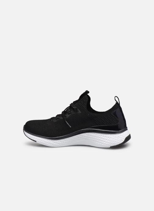 Chaussures de sport Skechers SOLAR FUSE GRAVITY EXPERIENCE W Noir vue face