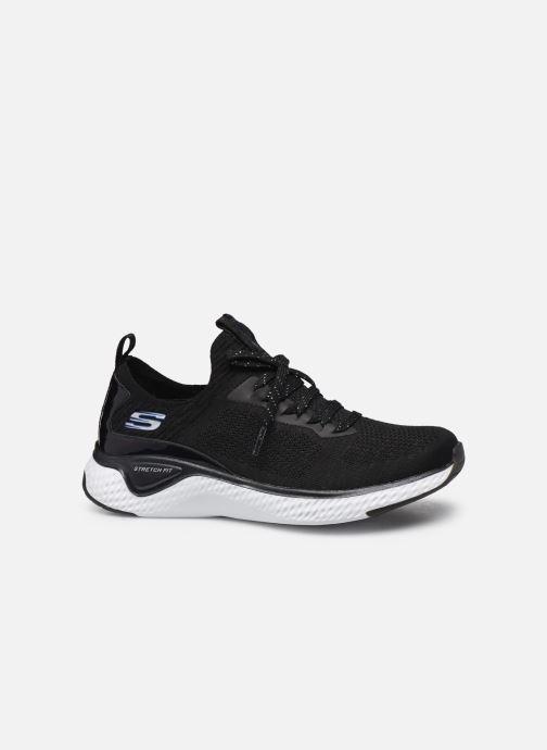 Chaussures de sport Skechers SOLAR FUSE GRAVITY EXPERIENCE W Noir vue derrière