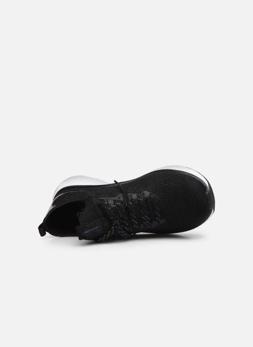 Chaussures de sport Skechers SOLAR FUSE GRAVITY EXPERIENCE W Noir vue gauche