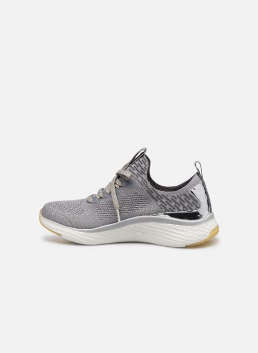 Chaussures de sport Skechers SOLAR FUSE GRAVITY EXPERIENCE W Argent vue face