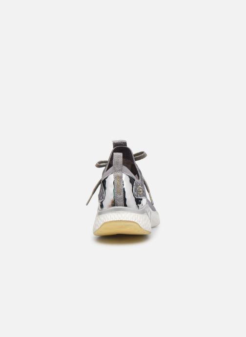 Chaussures de sport Skechers SOLAR FUSE GRAVITY EXPERIENCE W Argent vue droite