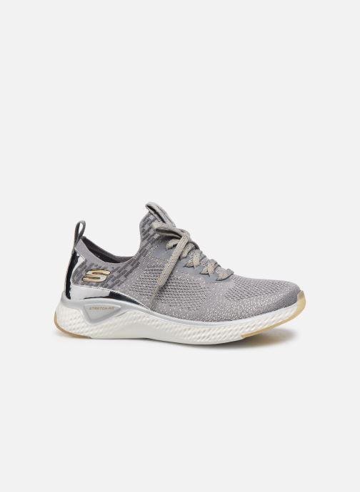 Chaussures de sport Skechers SOLAR FUSE GRAVITY EXPERIENCE W Argent vue derrière