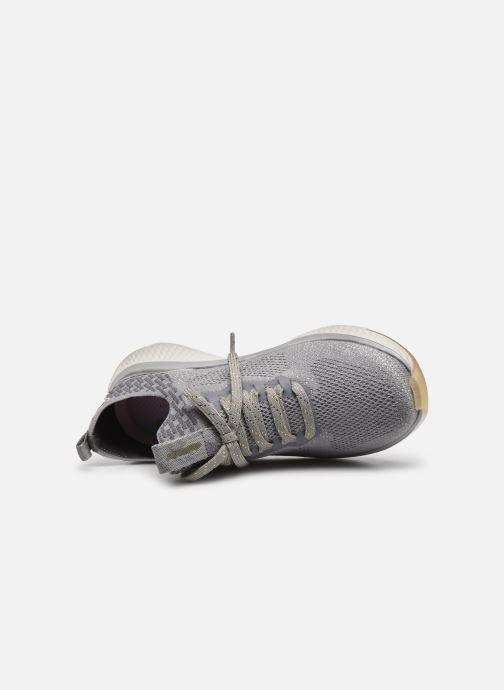 Chaussures de sport Skechers SOLAR FUSE GRAVITY EXPERIENCE W Argent vue gauche